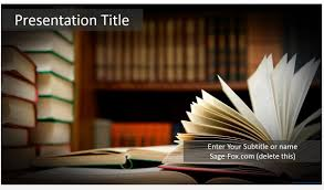 books powerpoint template 5825 free powerpoint books