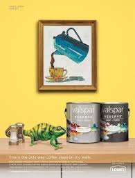 valspar paint advertisement illustration dolan geiman