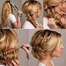 easy messy buns for shoulder length hair bun hairstyles for your wedding day with detailed steps and