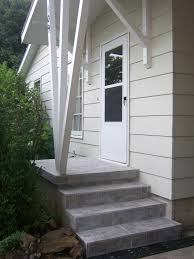 How To Put Rug On Stairs by Family Tree How To Update Exterior Concrete Steps Replace Old