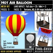 air balloon l for sale corn dog tool shed