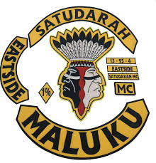 best patch new arrival satudarah mc embroidered iron on patch motorcycle