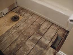 bathroom sub floor repair wood floors