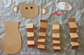 Paper Plate Monkey Craft - s day monkey craft for crafty morning