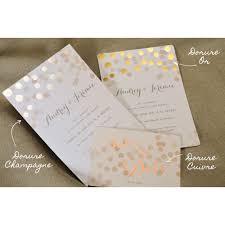 faire part mariage avec photo faire part chagne dorure wedding card and weddings