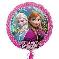 singing balloon frozen singing balloon