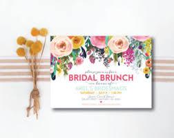 bridesmaids brunch invitations fall bridal brunch invitation bridal luncheon invitations