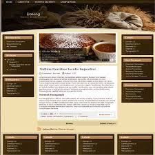 baking awesomeness food recipes or restaurants blogger templates