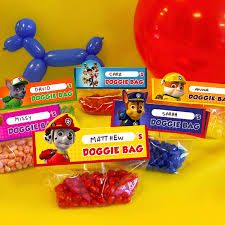 nick jr printable goody bags nickelodeon parents