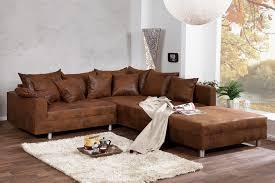 canapé d angle cuir vieilli canapés d angle design royale deco