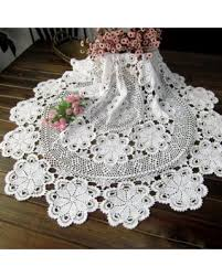 round table cloth covers amazing deal on simple cotton lace weave tablecloths handmade