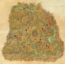 bal foyen treasure map shadowfen treasure map locations elder scrolls guides