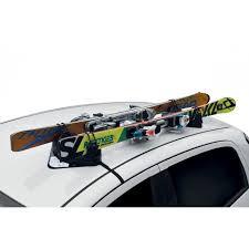 porta sci per auto portasci magnetico 2 paia universale per auto menabo igloo senza