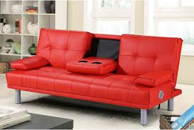 Cheap Leather Sofa Beds Uk by Manhattan Sofa Bed Black Red Or White With Bluetooth Stereo