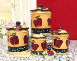 Beautiful Kitchen Canisters by Red Kitchen Canisters Kitchen Canisters Stock Photos Uamp