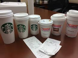 Coffee Dunkin Donut starbucks is cheaper than dunkin donuts period vaughan dugan