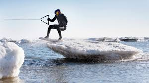 wakeskating icebergs in cape cod w brian grubb youtube