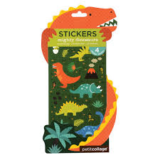 mighty dinosaurs pack of 2 u2013 petit collage