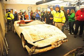 corvette museum collapse thursday marks one year anniversary of sinkhole collapse at