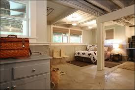unfinished basement ceiling paint home design ideas