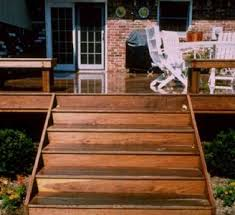 deck stairs built with ez stairs stairs design design ideas
