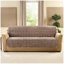 Surefit Sofa Slipcovers by Sure Fit Quilted Velvet Furniture Friend Armless Sofa Slipcover