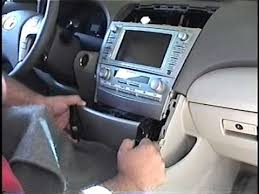 2011 toyota camry navigation system how to remove radio navigation from 2007 toyota camry for repair