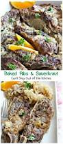 baked ribs and sauerkraut can u0027t stay out of the kitchen