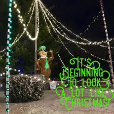 yogi bear christmas lights jellystone park caledonia wi home facebook