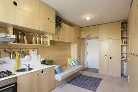 Movable Walls For Apartments 322 Sq Ft Transformer Apartment Has Folding Walls U0026 Underfloor