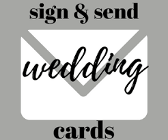 sign a wedding card sign send wedding cards june s hallmark