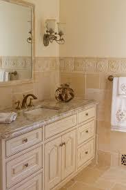 Cream Bathroom Vanity by Traditional Glazed Off White Bathroom Vanity Traditional Bathroom