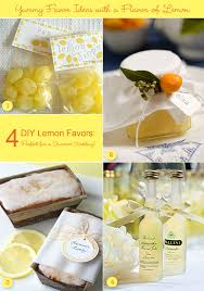 summer wedding favors diy lemon favors for a summer wedding unique wedding