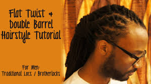 tutorial flat twist u0026 double barrel hairstyle youtube