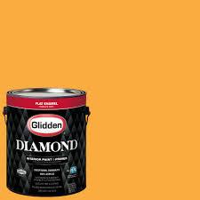 glidden diamond 1 gal nfl 179d pittsburgh steelers gold flat