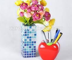Mosiac Vase Special Gold Glass U0026mirror Glass Mosaic Vase Diy Craft Mosaic Vase