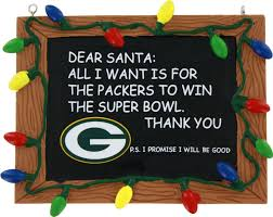 bay packers chalkboard ornament