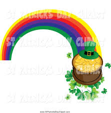 royalty free rainbow stock st patrick u0027s day designs