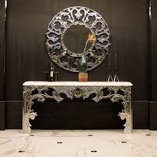 Venetian Console Table High End Designer Console Tables Sculptural Llorente