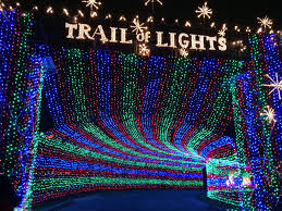 famous christmas light displays around the us news from the trail