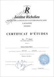 alliance suisse institut richelieu lausanne switzerland diplôme de l alliance