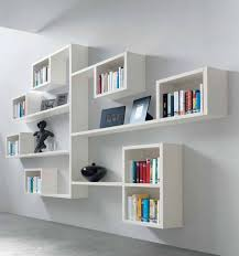 Modern Wall Mounted Shelves Living Room Wall Mounted Shelves For Books In Design Modern Book