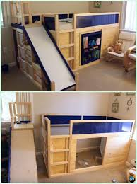Bunk Bed Free Diy Side Slide Bed Playhouse Diy Bunk Bed Free