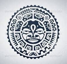 polynesian sun tattoos maori and