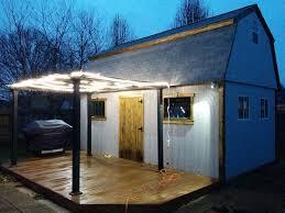 Building Backyard Shed A Diy Backyard Tavern Should Be On Everyones To Do List 36 Photos