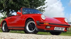 guards red porsche used porsche 911 carrera 3 2 sport convertible fantastic low
