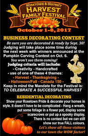 festival decorating contest u2013 2017 rosetown harvest family festival