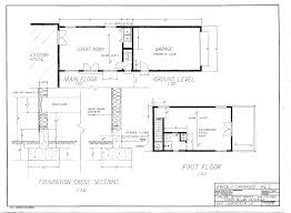 foundation floor plans architecture plans 42892
