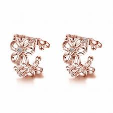 beautiful ear rings beautiful earrings ear cuff jewelry gold silver color