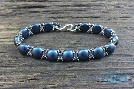 beaded bracelet kit images Sweet candy new beaded bracelet kit with 2 hole glass beads jpg